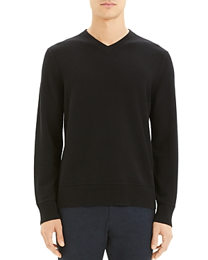 Theory Hilles Cashmere V-Neck Sweater-Men