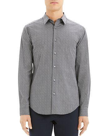 Theory - Theory Sylvain Print Slim Fit Shirt