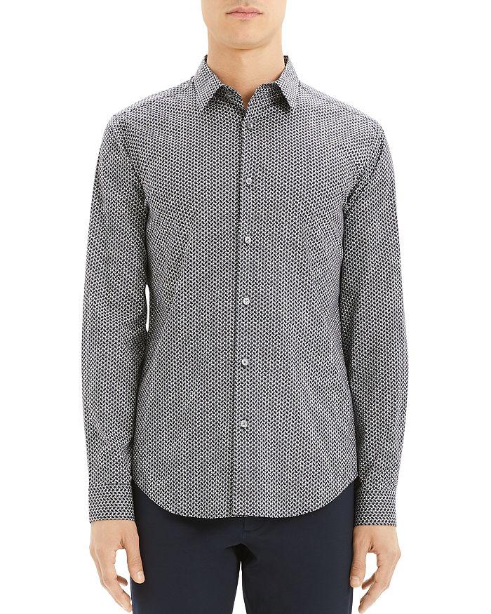Theory - Sylvain Print Slim Fit Shirt