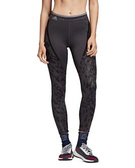 adidas by Stella McCartney - Run Leopard-Print-Panel Leggings