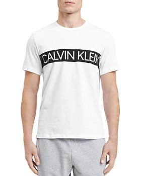 Calvin Klein - Logo-Print Crewneck Tee