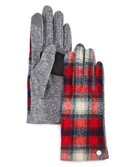 Echo - Heritage Plaid Tech Gloves