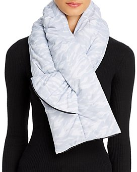 U|R - All Weather Packable Puffer Scarf & Pouch