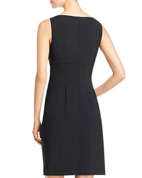 BOSS - Daciana Hardware-Embellished Sheath Dress