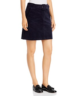 Vero Moda - Belted Corduroy Mini Skirt