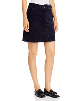 Vero Moda - Belted Corduroy Mini Skirt