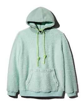 SJYP -  Fleece Hooded Sweatshirt