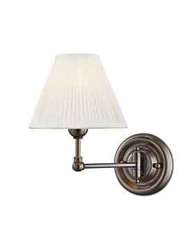 Hudson Valley - Classic No.1 by Mark D. Sikes 1 Light Swing-Arm Wall Sconce