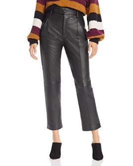 Joie - Trula Lamb Leather Pants