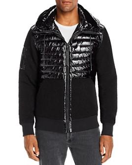 Moose Knuckles - Camperville Mixed-Media Hooded Jacket