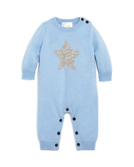 Bloomie's -  Boys' Star Intarsia Cashmere Coverall - Baby