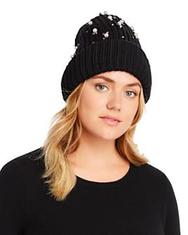 Regina - Embellished Knit Beanie