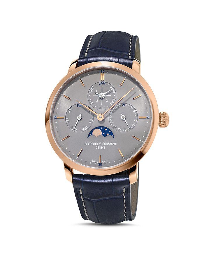 Frederique Constant - Slimline Perpetual Calendar Watch, 42mm