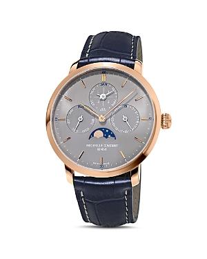 Frederique Constant Slimline Perpetual Calendar Watch, 42mm