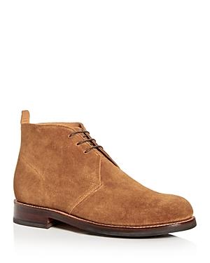 Grenson Men's Wendell Suede Chukka Boots