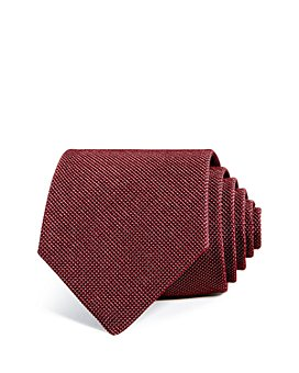 Armani - Micro Dot Silk Wide Tie