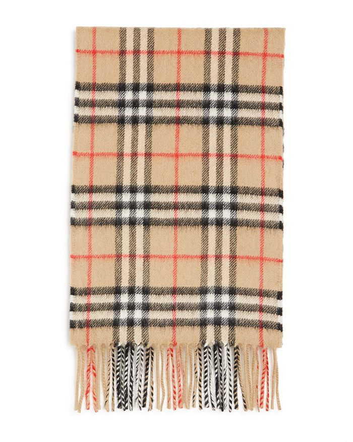 Burberry - Unisex Kids' Vintage Check Cashmere Scarf