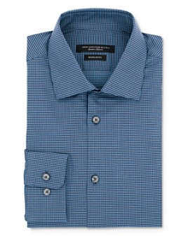 John Varvatos Star USA - Micro Gingham Regular Fit Dress Shirt