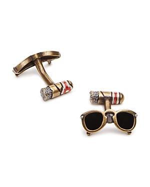Babette Wasserman Sunglass & Cigar Cufflinks