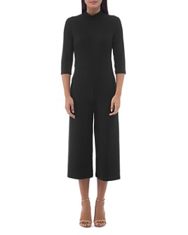 B Collection by Bobeau - Logan Ribbed Knit Jumpsuit