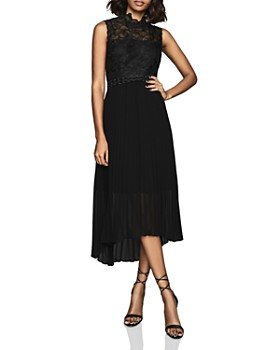 REISS - Aideen Lace Combo Dress - 100% Exclusive