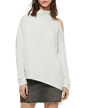 Allsaints Sweaters BRADY ASYMMETRIC CUTOUT SWEATER