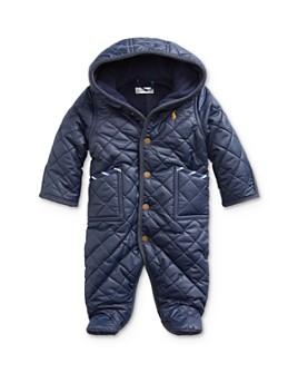 Ralph Lauren - Boys' Quilted One-Piece Coat - Baby