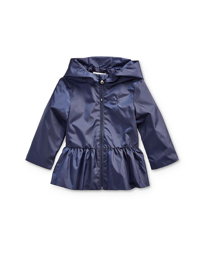 Ralph Lauren - Girls' Peplum Windbreaker Jacket - Baby