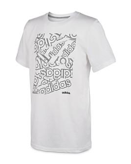 Adidas - Unisex Core Logo Tee - Big Kid
