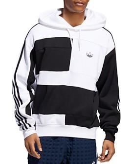 adidas Originals - Asymmetrical Block Hooded Sweatshirt