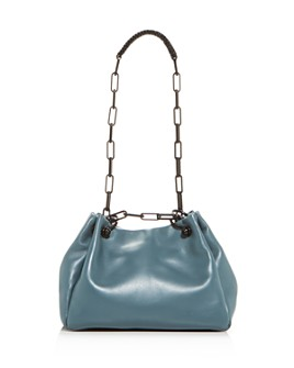 Callista - Grace Leather Mini Hobo