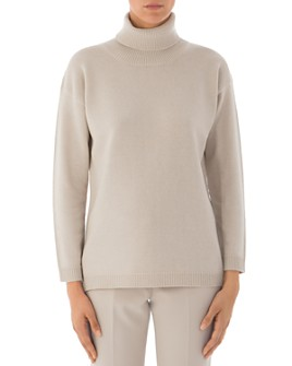 Peserico - Virgin Wool, Silk & Cashmere Turtleneck Sweater
