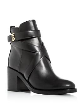 Burberry - Women's Pryle Block High-Heel Booties