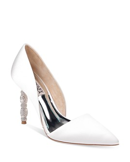 Badgley Mischka - Women's Emily Crystal-Embellished d'Orsay Pumps