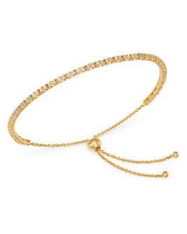 Zoë Chicco - 14K Yellow Gold Diamond Bolo Tennis Bracelet