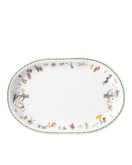 Christmas Bowls And Platters.Serving Platters Rectangular Oval Round Square