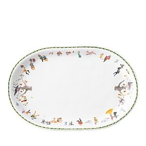 Juliska Twelve Days of Christmas Oval Platter-Home