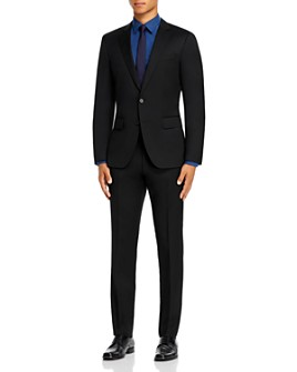 BOSS - Huge/Genius Wool Twill Slim Fit Suit