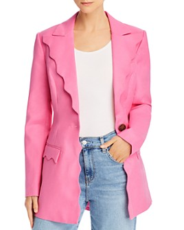 Acler - Aslo Scalloped Trim Blazer