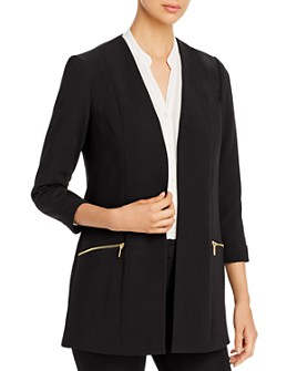 T Tahari - Three-Quarter-Sleeve Blazer