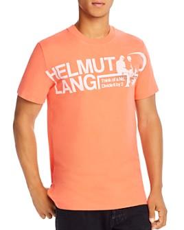 Helmut Lang - Logo Graphic Tee