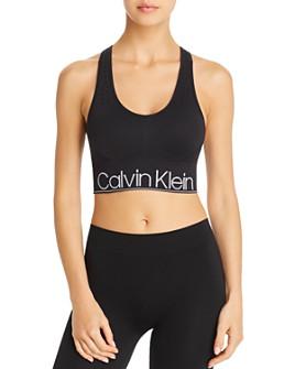 Calvin Klein - Seamless Racerback Sports Bra