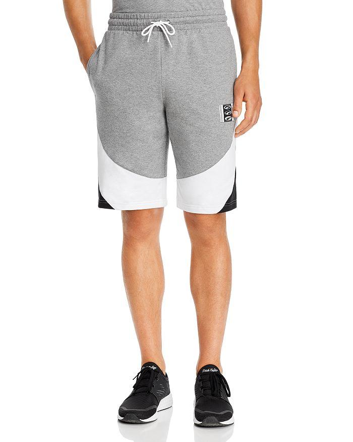 PUMA - 90's Retro Color-Block Shorts