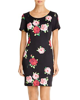 Betsey Johnson - Floating Roses Scuba Dress