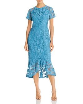 nanette Nanette Lepore - Lace Flounce Midi Dress