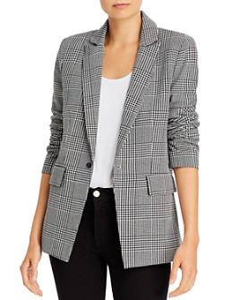 AQUA - Houndstooth Blazer - 100% Exclusive