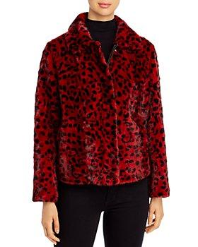 Maximilian Furs - Leopad-Print Mink Fur Coat - 100% Exclusive