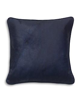 "Mitchell Gold Bob Williams - Solid Calf Hair & Velvet Pillow, 22"" x 22"""