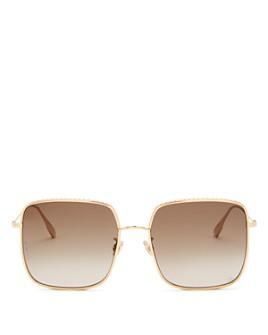 Dior - Women's DiorByDior Square Sunglasses, 59mm