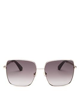 kate spade new york - Women's Fenton Square Sunglasses, 60mm